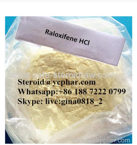 Anti-Estrogen Raloxifene Hydrochloride for Female