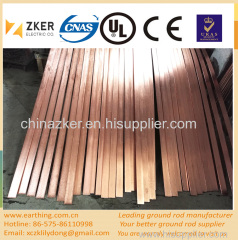 copper clad steel earthing flat bar 505