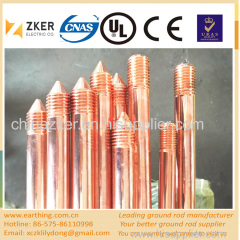 electric safety copper grounding rod