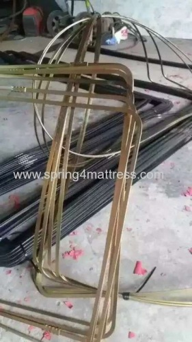 flat wire for border frame