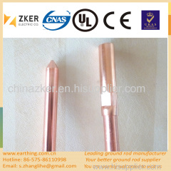copper clad steel rod customized