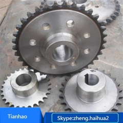 Galvanized sprocket for parking system
