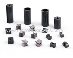 Permanent plastic bonded magnets