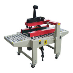 Sides belt drive carton sealer machine
