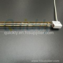 Gold coating fast response IR emitter