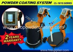 Elektrostatische poeder spuitmachine