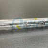 Clear tube halogen IR lamps