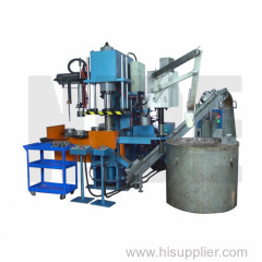 High automation and efficiency armature die casting machine