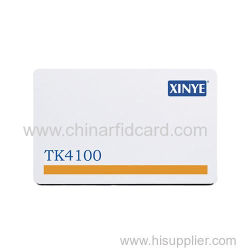 Magnetic stripe rfid card