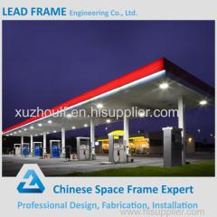Petrol Station for Steel Framing Construction