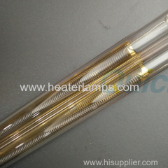 quartz glass medium wave ir heater for textile dyeing machine