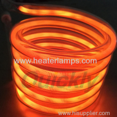 quartz glass infrared heater lamps
