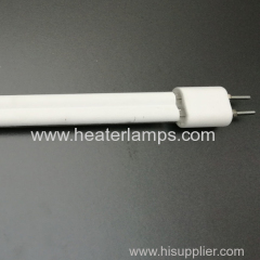white plating ir heater