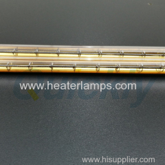 double quartz tube ir heater