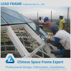 Prefabricated Customized Galvanized Steel Roof Trusses Prices