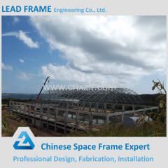 Promotional Steel Space Frame Structure Building
