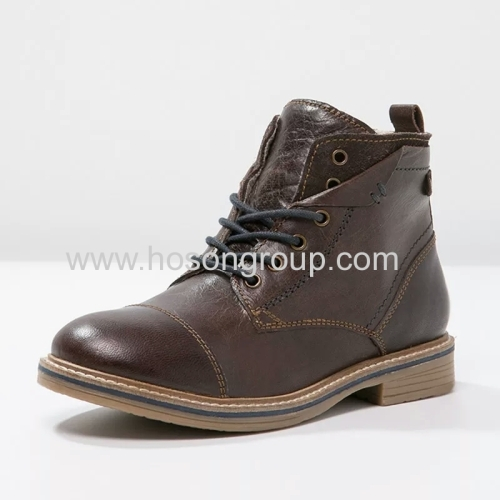 Boys and girls lace up fashion boots