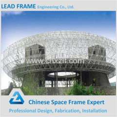 Arch space frame prefabricated gym build for physical culture