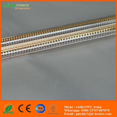 infrared heating element for glass printing