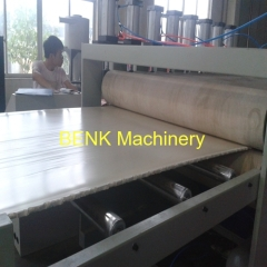 wood plastic building template board machinery