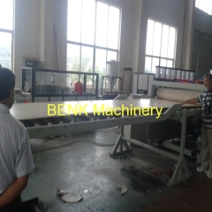 WPC building template extrusion machine
