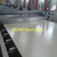 PVC Instruction Foam Board Extrusion Line