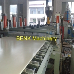 2450mm WPC PVC free foam board production line