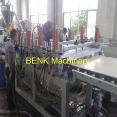 Pvc / pvc-wpc mobiliário linha de produção de placas de espuma