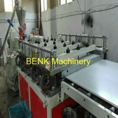 WPC Kitchen Cabinet Board Machine