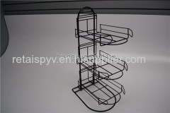 Sports Products Hat Cap Counter Retail Metal Display Racks