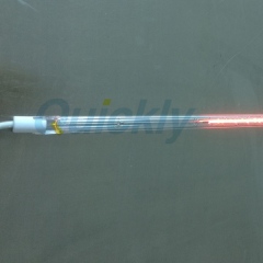 short wave clear tube heating element