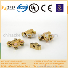 brass square cable clamp