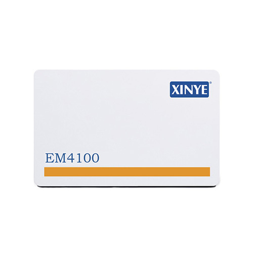 Magnetic stripe radio frequency identification card 4100
