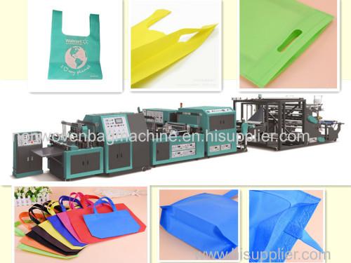 shopping bag making machine