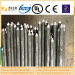 two ends uncoated copper bonded steel earth rod