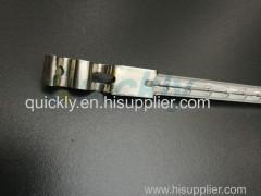 Quartz tube halogen infrared bulb heater