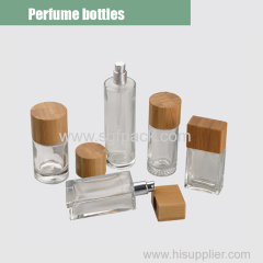 Glass perfume bottle overview