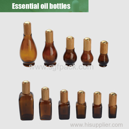 Essential oil bottle overview