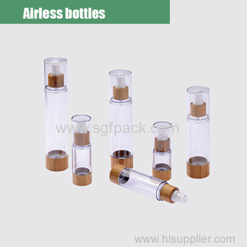 Plastic airless bottle overview