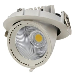 30W Recessed LED ceiling spotlight
