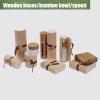 Wooden box for bottles/jars overview