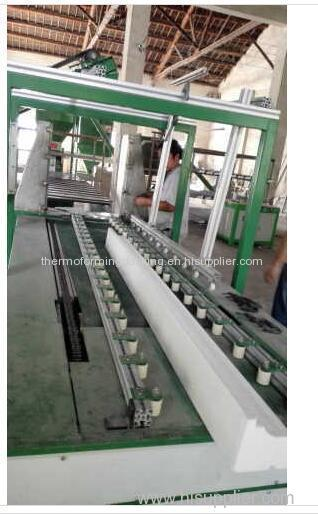 Foam coating machine