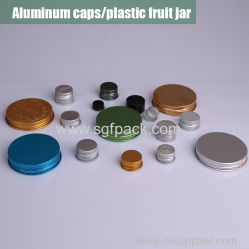 Aluminum caps for bottles/jars overview