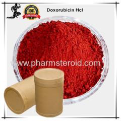 Orange red Powder Anticancer Raw Powders Doxorubicin Hcl CAS:25316-40-9 Treating Breast cancer