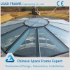 Wide Span Lightweight Space Structure Glass Dome Roof
