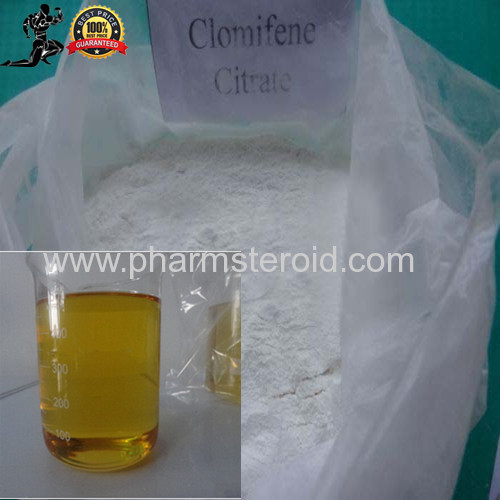 Anticancer Raw Powders Clomifene Citrate used as pharmaceutical material