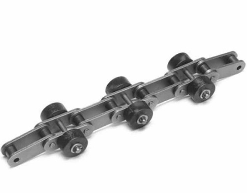 Roller chain for car parking system