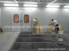 China Infrared Furniture Paint Spray booth/drying room For Sale