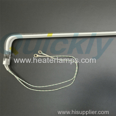 buy L shape infrared heater lamps for printing oven