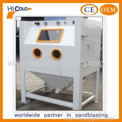 manual dry sand blasting machine